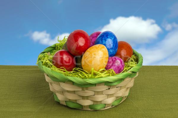 Easter basket Stock photo © w20er