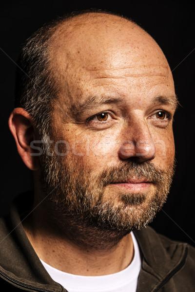 Baldness man Stock photo © w20er
