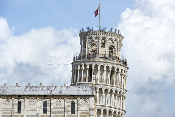 Closeup Leaning Tower Pisa Stock photo © w20er
