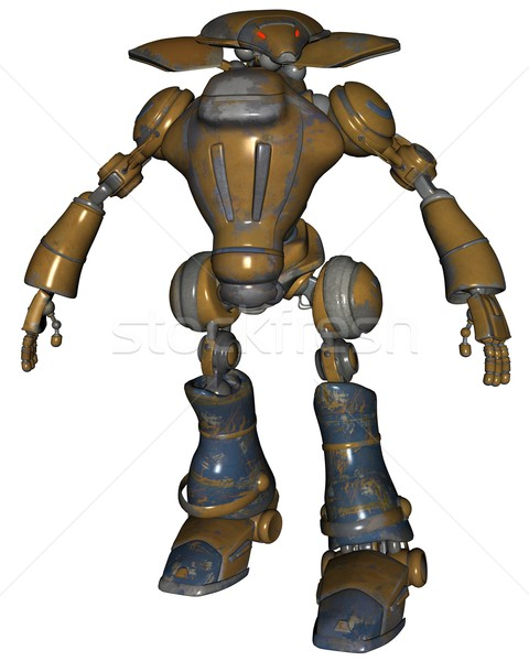 Sci-fi robot Stock photo © Wampa