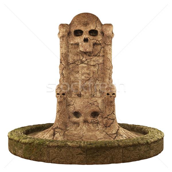 Skull cave crypt Stock photo © Wampa