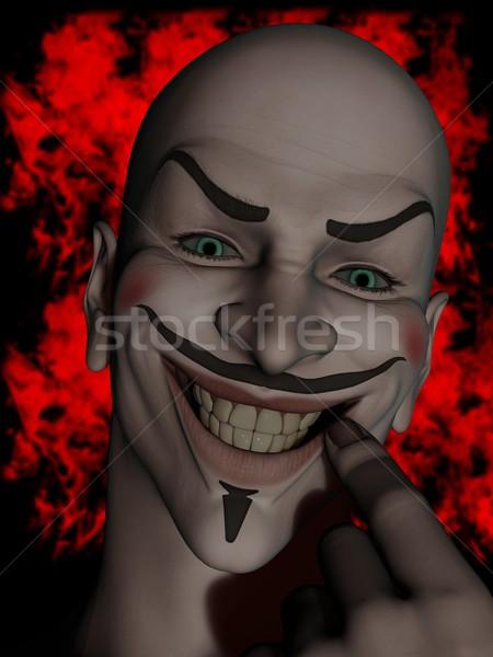 Jester face Stock photo © Wampa