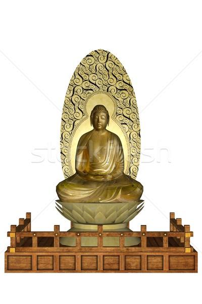 Statue of budha Stock photo © Wampa