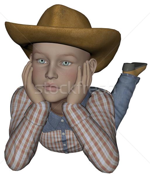 Young cowpoke Stock photo © Wampa