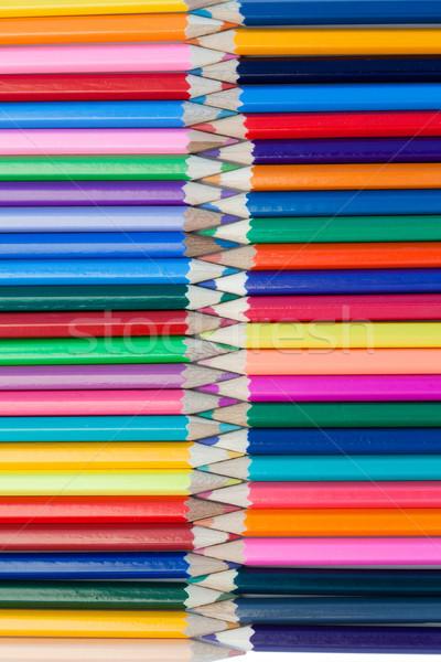 цвета карандашей собственный аннотация пер краской Сток-фото © wavebreak_media