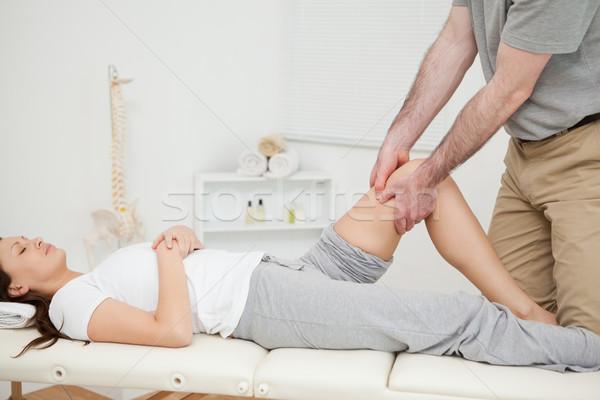 Pacífico mulher manipulado médico quarto homem Foto stock © wavebreak_media