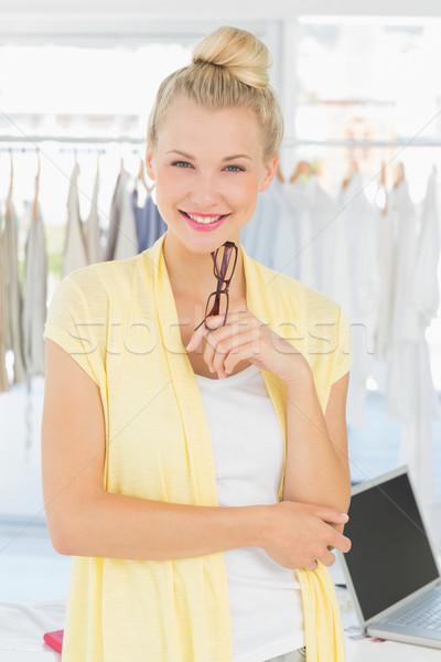 Portrait of a beautiful female fashion designer Stock photo © wavebreak_media