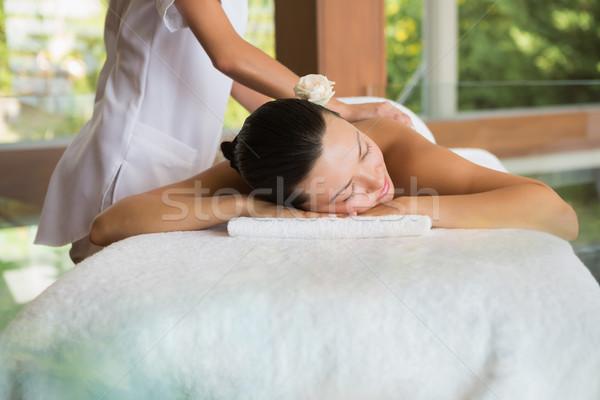 Bruna pacifica massaggio Foto d'archivio © wavebreak_media