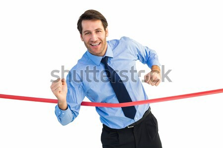 Empresario blanco hombre empresarial éxito Foto stock © wavebreak_media