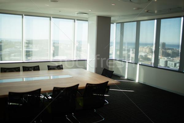 Lege tabel stoelen kantoor moderne business Stockfoto © wavebreak_media