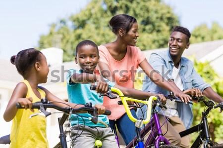 Groep kinderen boot kamp Stockfoto © wavebreak_media