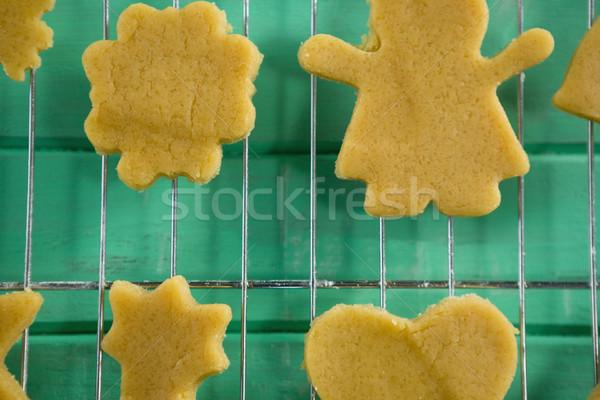 Cookies on cooling rack Stock photo © wavebreak_media