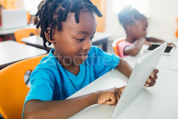 Klas meisje school werk Stockfoto © wavebreak_media