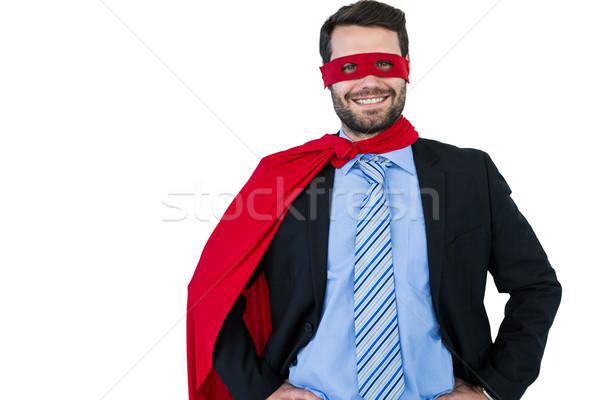Portrait of businessman pretending to be a super hero Stock photo © wavebreak_media