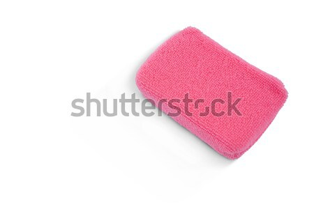 Rosa bano esponja moda azul Foto stock © wavebreak_media