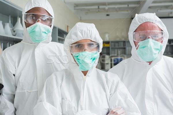 команда три лаборатория женщину служба лаборатория Сток-фото © wavebreak_media