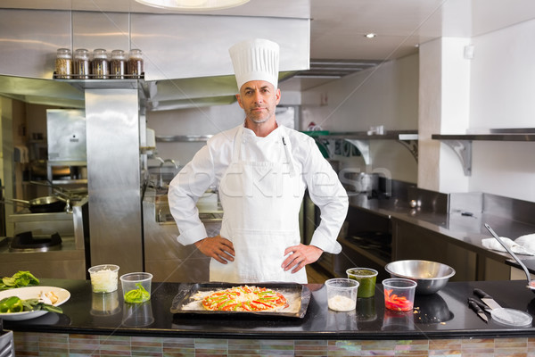 Maschio chef cotto alimentare cucina ritratto Foto d'archivio © wavebreak_media