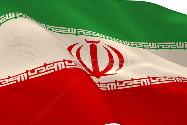 Iranian flag Stock photo © wavebreak_media