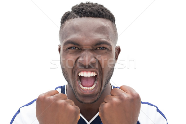 Close up of a football player shouting Stock photo © wavebreak_media
