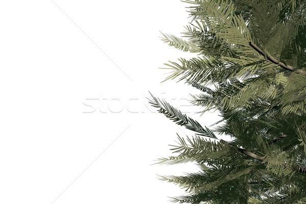 Cyfrowo wygenerowany zielone biały Zdjęcia stock © wavebreak_media