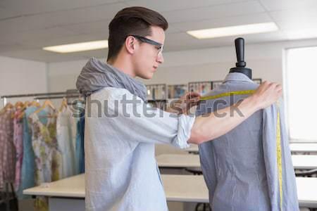 Mode student werken etalagepop college school Stockfoto © wavebreak_media