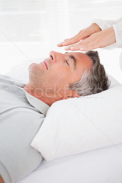 Patient in therapy  Stock photo © wavebreak_media