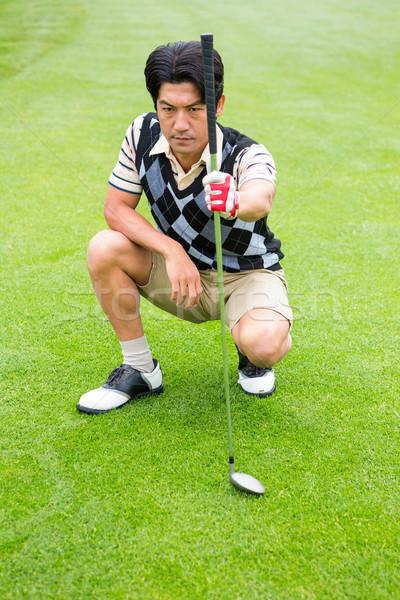 ゴルファー クラブ ゴルフコース ストックフォト © wavebreak_media