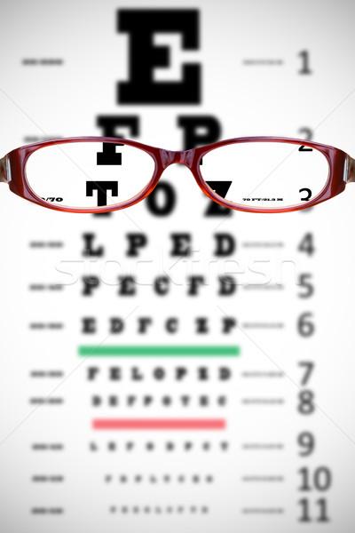 Imagem óculos conceito óculos Foto stock © wavebreak_media