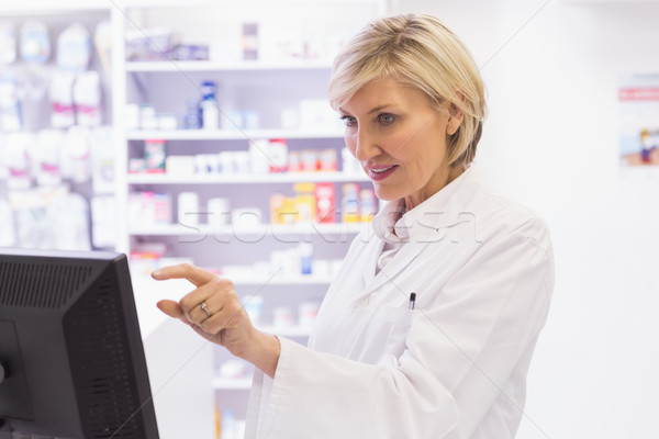 фармацевт больницу аптека медицинской Сток-фото © wavebreak_media
