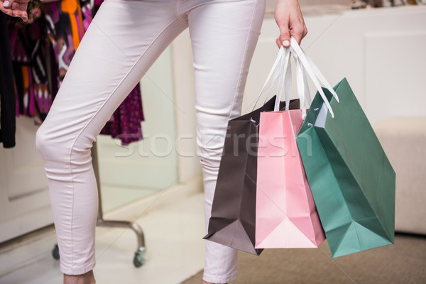 Mujer pie moda boutique compras Foto stock © wavebreak_media