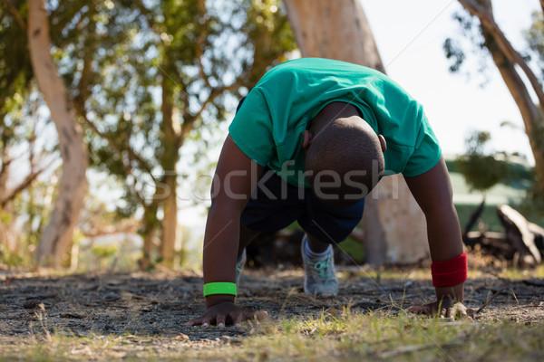 Nino formación arranque campamento Foto stock © wavebreak_media