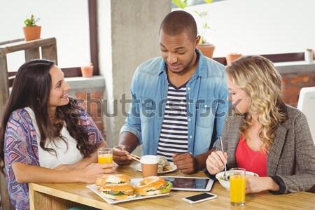 幸せ 家族 ジンジャーブレッド キッチン ホーム 子 ストックフォト © wavebreak_media