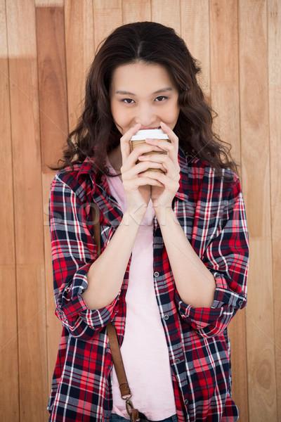 Кубок кофе человека Сток-фото © wavebreak_media