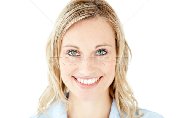 Self-assured businesswoman smiling at the camera Stock photo © wavebreak_media