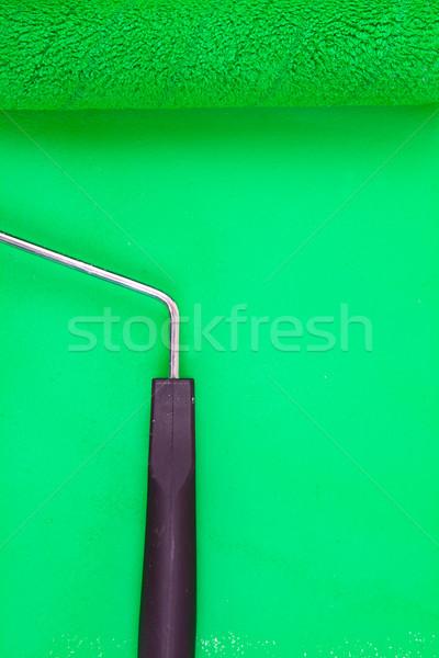 Verde pintar manusear educação cor pintor Foto stock © wavebreak_media