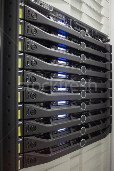 Rack serveurs internet web câble Photo stock © wavebreak_media