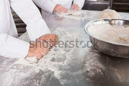 Licznik kuchnia piekarni restauracji Zdjęcia stock © wavebreak_media