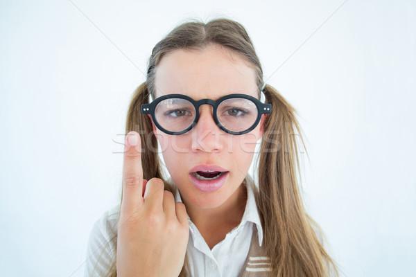 женщины глядя путать белый моде Сток-фото © wavebreak_media