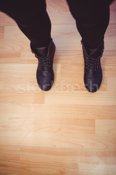 Cropped image of woman wearing boots Stock photo © wavebreak_media
