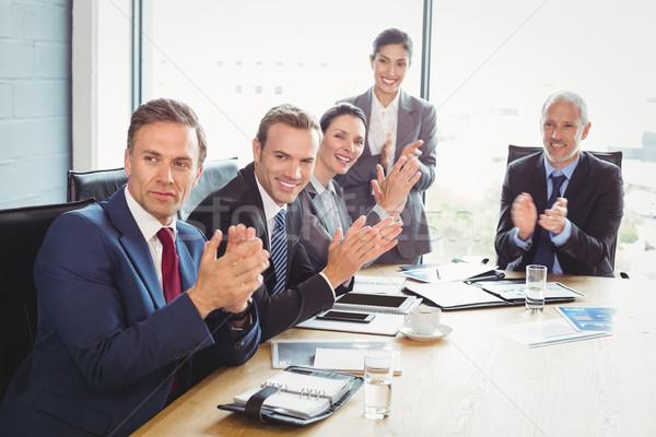 Sala conferenze business ufficio riunione Foto d'archivio © wavebreak_media