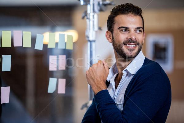 молодые бизнесмен служба бизнеса человека Сток-фото © wavebreak_media