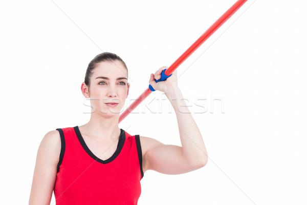 Kadın atlet kadın vücut egzersiz Stok fotoğraf © wavebreak_media