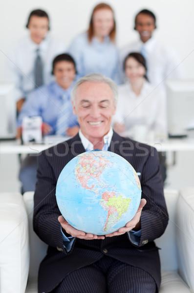 Supérieurs affaires monde collègues affaires Photo stock © wavebreak_media
