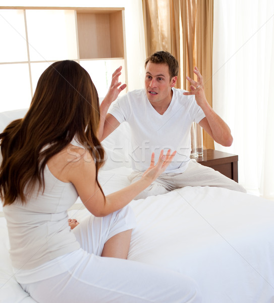 Furious couple having an argument Stock photo © wavebreak_media