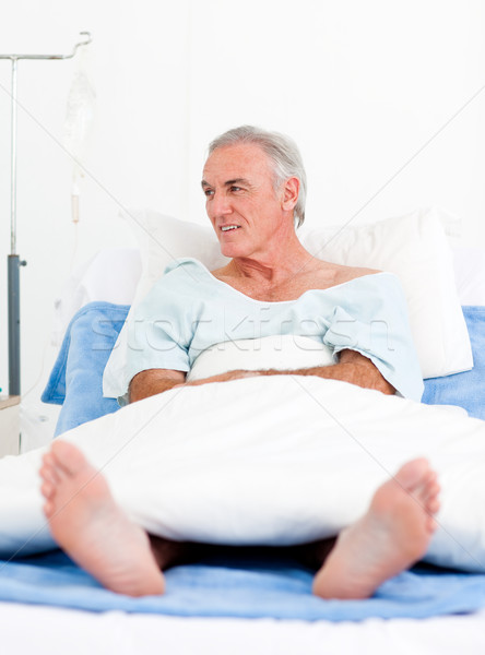 Portrait of a senior man at the hospital Stock photo © wavebreak_media