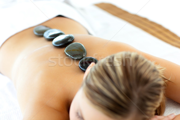 Confident woman having a massage  Stock photo © wavebreak_media