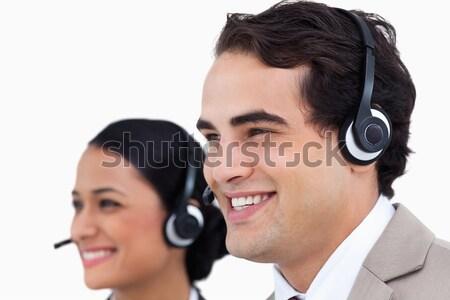 портрет улыбаясь продажи представитель работа в команде служба Сток-фото © wavebreak_media