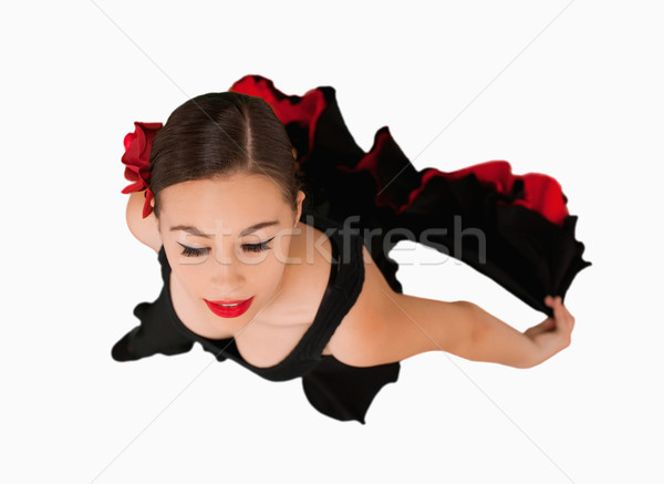 Vue danse femme blanche danseur performances Photo stock © wavebreak_media
