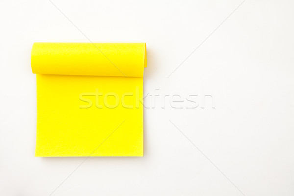 ストックフォト: 多くの · 黄色 · 接着剤 · ノート · 背景