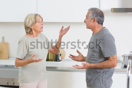 Woman holding the hand of a patient in a room Stock photo © wavebreak_media